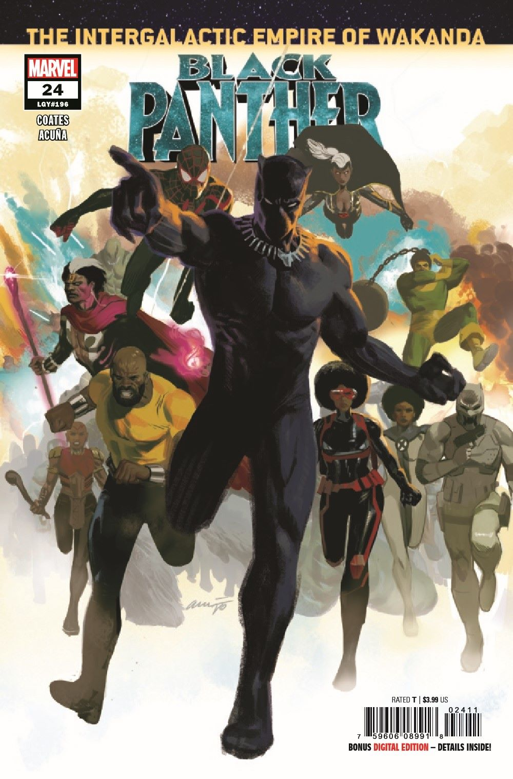 BLAP2018024_Preview-1 ComicList Previews: BLACK PANTHER #24