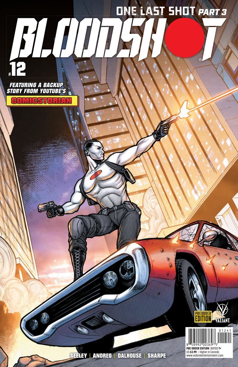 BLOODSHOT_12_PREORDER_COVER ComicList Previews: BLOODSHOT #12
