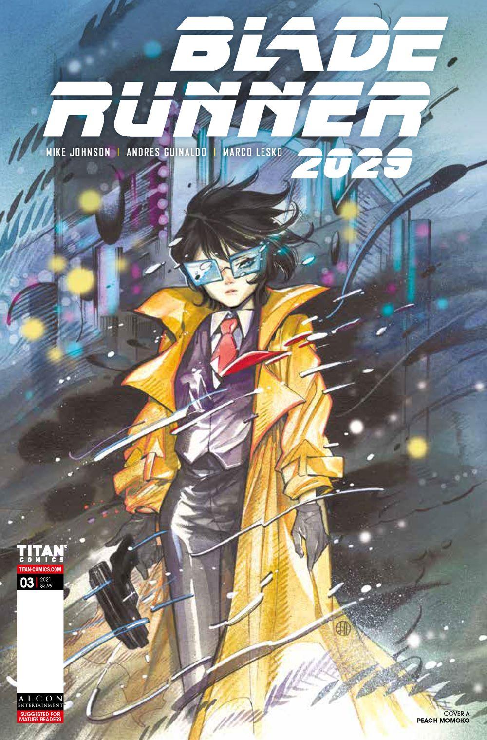 BR20293a ComicList Previews: BLADE RUNNER 2029 #3