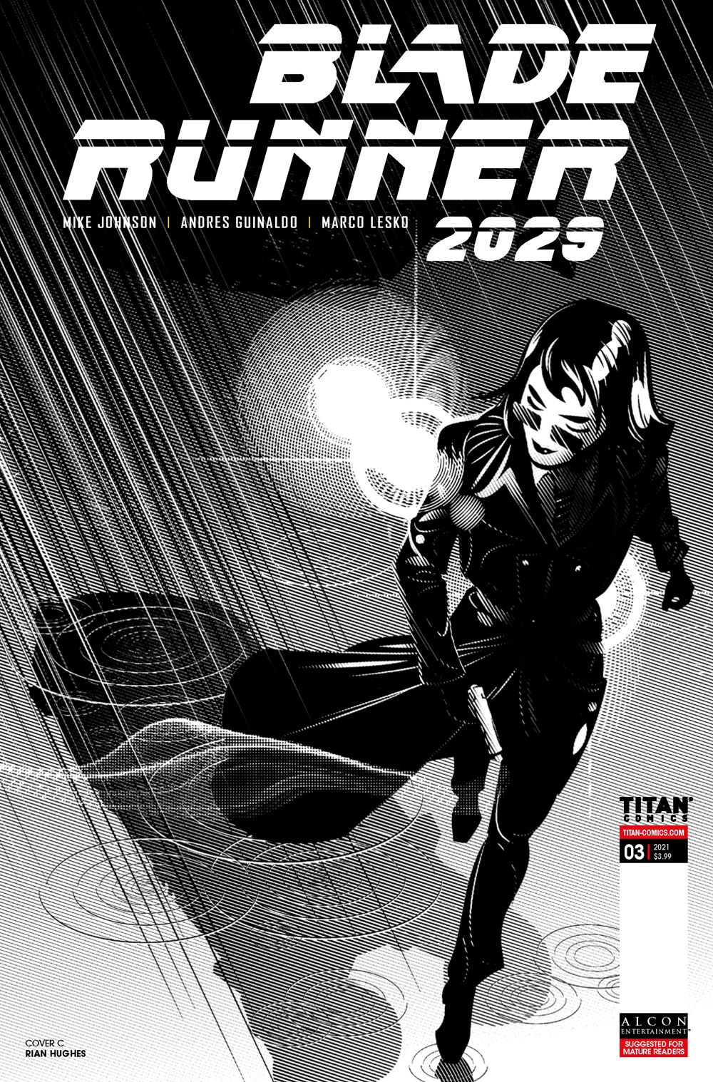 BR20293c ComicList Previews: BLADE RUNNER 2029 #3