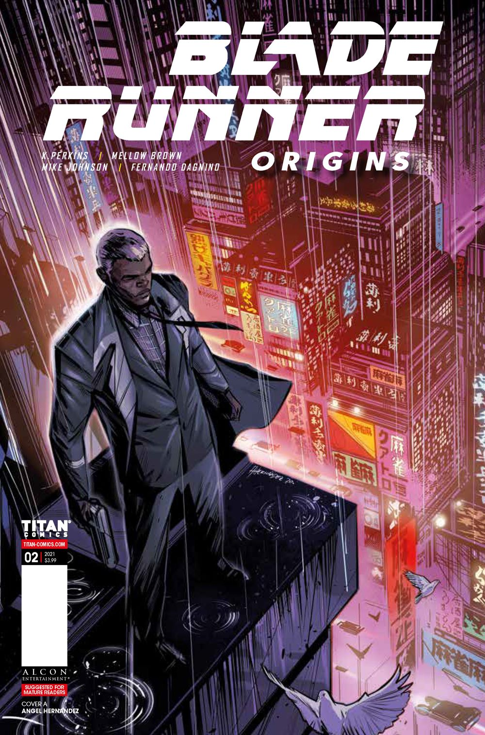 Blade_Runner_Origins_2_COVER-A_-HERNANDEZ ComicList Previews: BLADE RUNNER ORIGINS #2