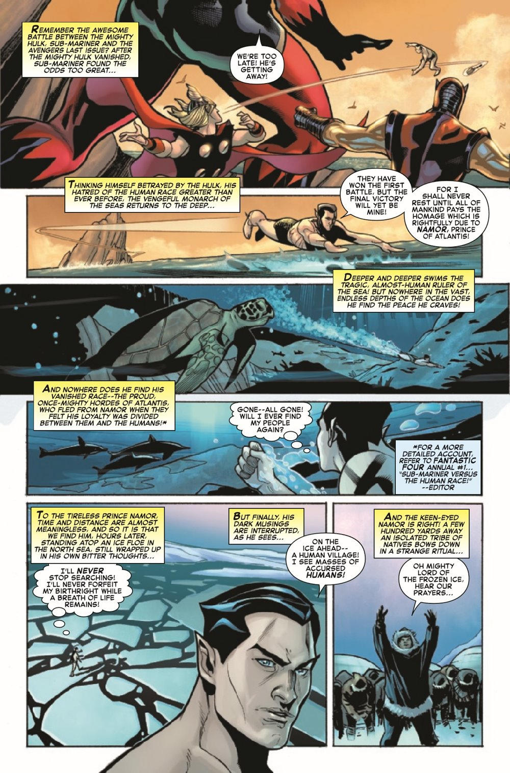 CAPAANNIVERSARY2021001_Preview-5 ComicList Previews: CAPTAIN AMERICA ANNIVERSARY TRIBUTE #1
