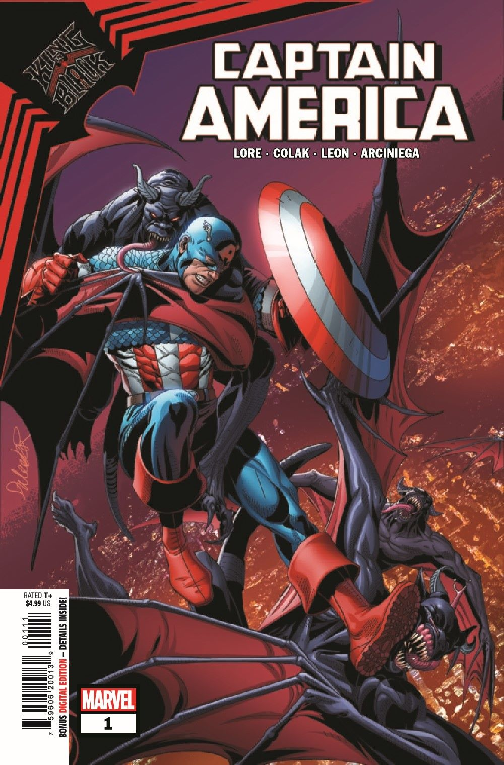 CAPAKIB2021001_Preview-1 ComicList Previews: KING IN BLACK CAPTAIN AMERICA #1