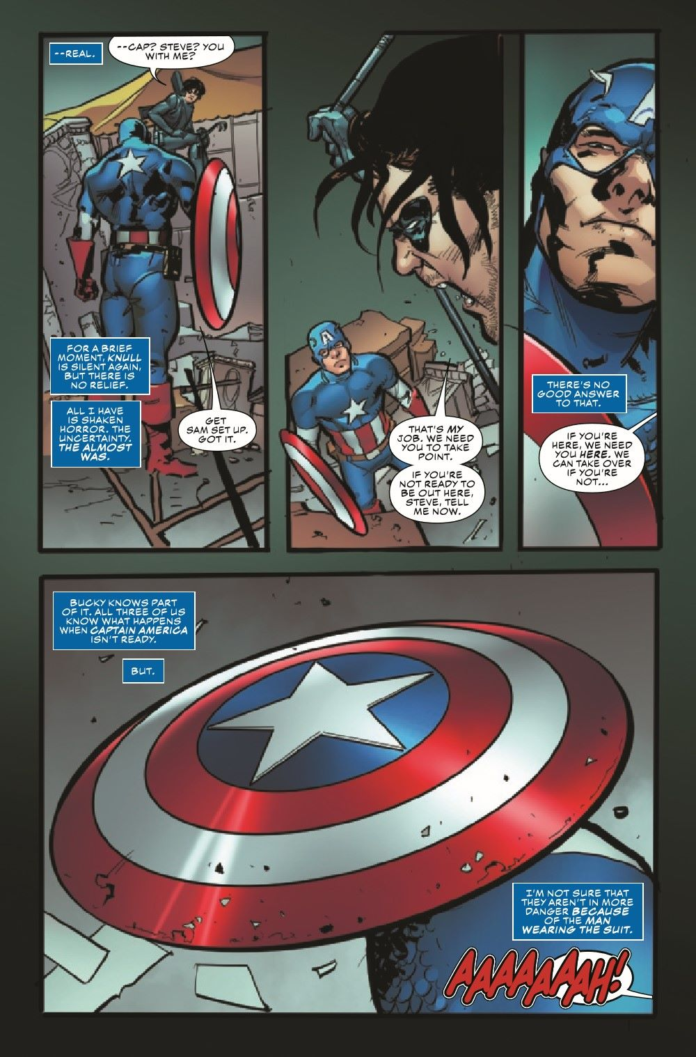 CAPAKIB2021001_Preview-4 ComicList Previews: KING IN BLACK CAPTAIN AMERICA #1