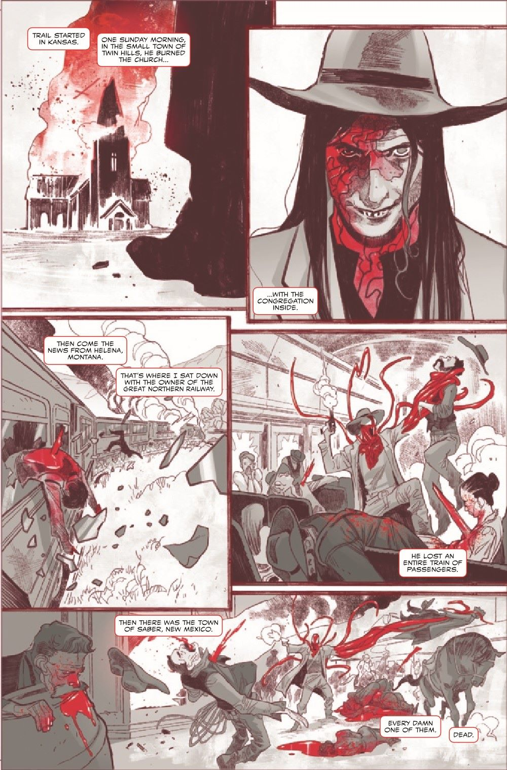 CARNBLKWHBL2021001_Preview-5 ComicList Previews: CARNAGE BLACK WHITE AND BLOOD #1 (OF 4)