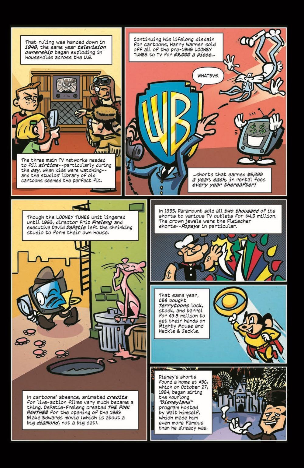 ComicBookHistory_04_pr-4 ComicList Previews: COMIC BOOK HISTORY OF ANIMATION #4 (OF 5)