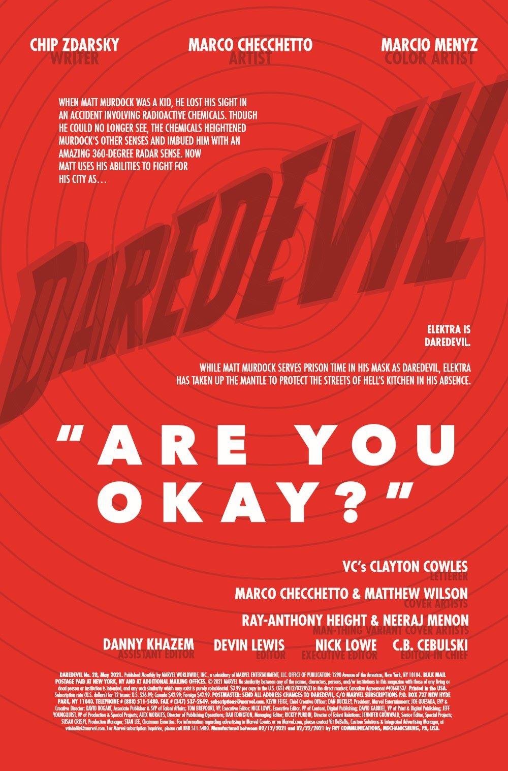 DD2019028_Preview-2 ComicList Previews: DAREDEVIL #28