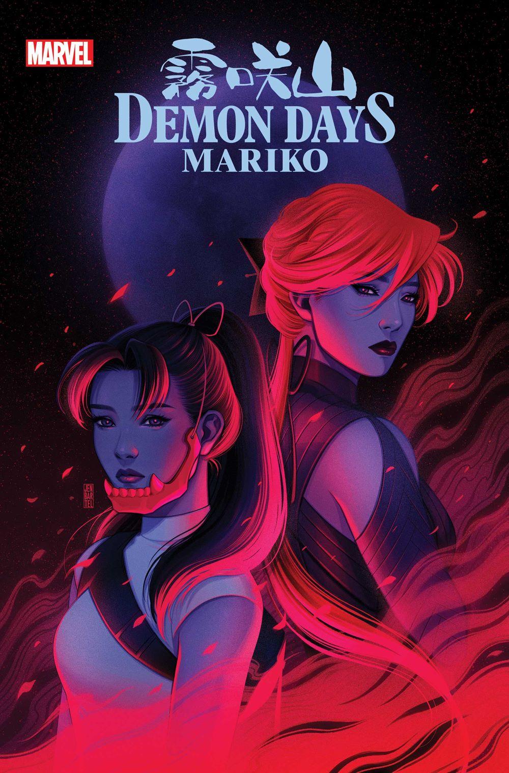 DEMONDAYSMARIKO2021001_Bartel_var Marvel Comics June 2021 Solicitations