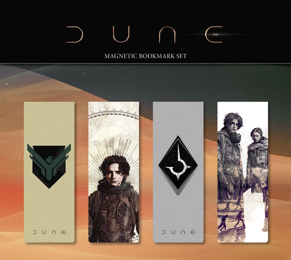 DUNE_MAGNETIC_BOOKMARK_SET_02_MOCKUP_SOL Dark Horse Comics June 2021 Solicitations