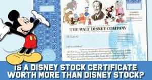 Disney-300x157 Disney Stock Certificates Worth More than Disney Stock?: Stock Certificate Collecting 101