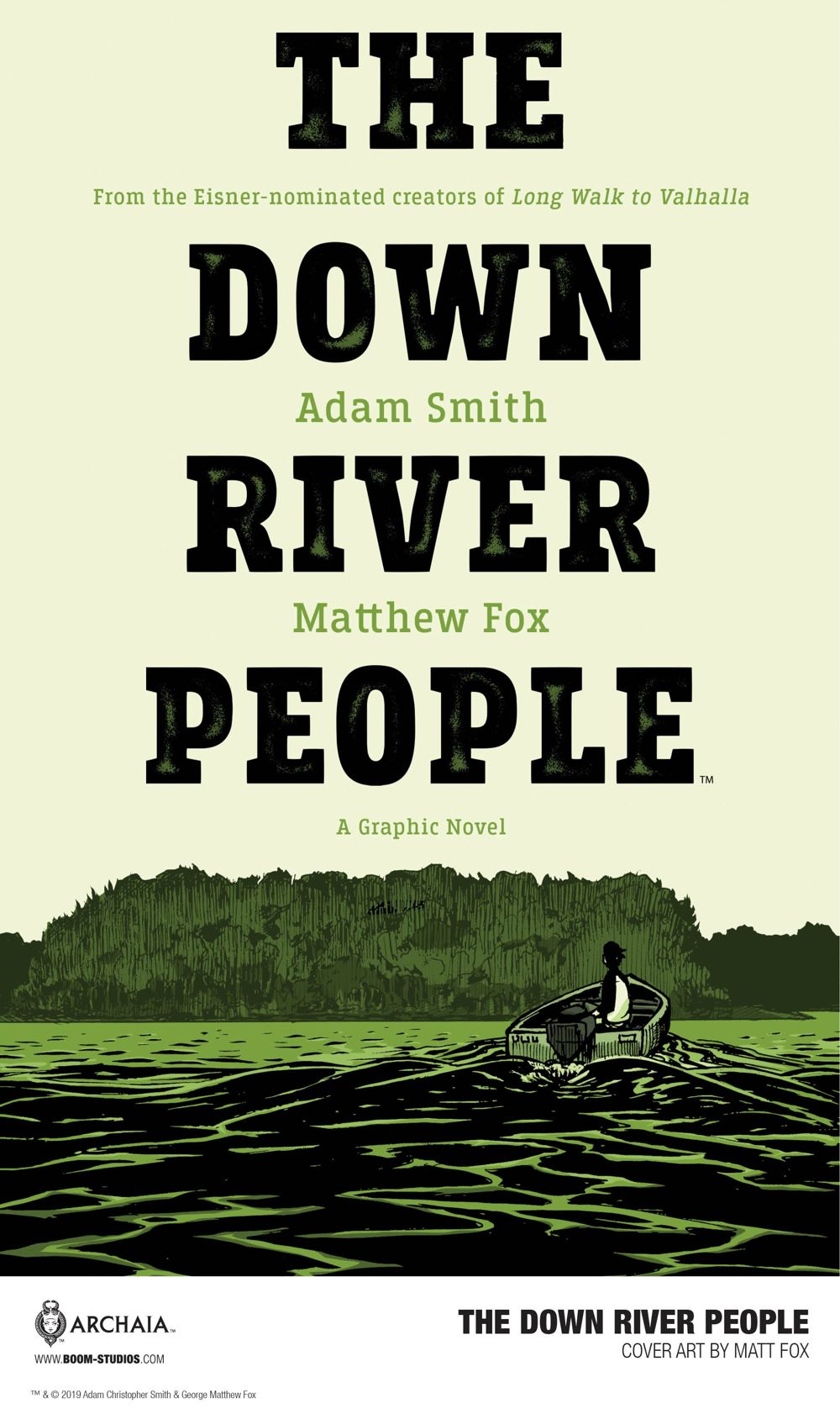 DownRiverPeople_Cover_Promo-1 First Look at BOOM! Studios' THE DOWN RIVER PEOPLE GN