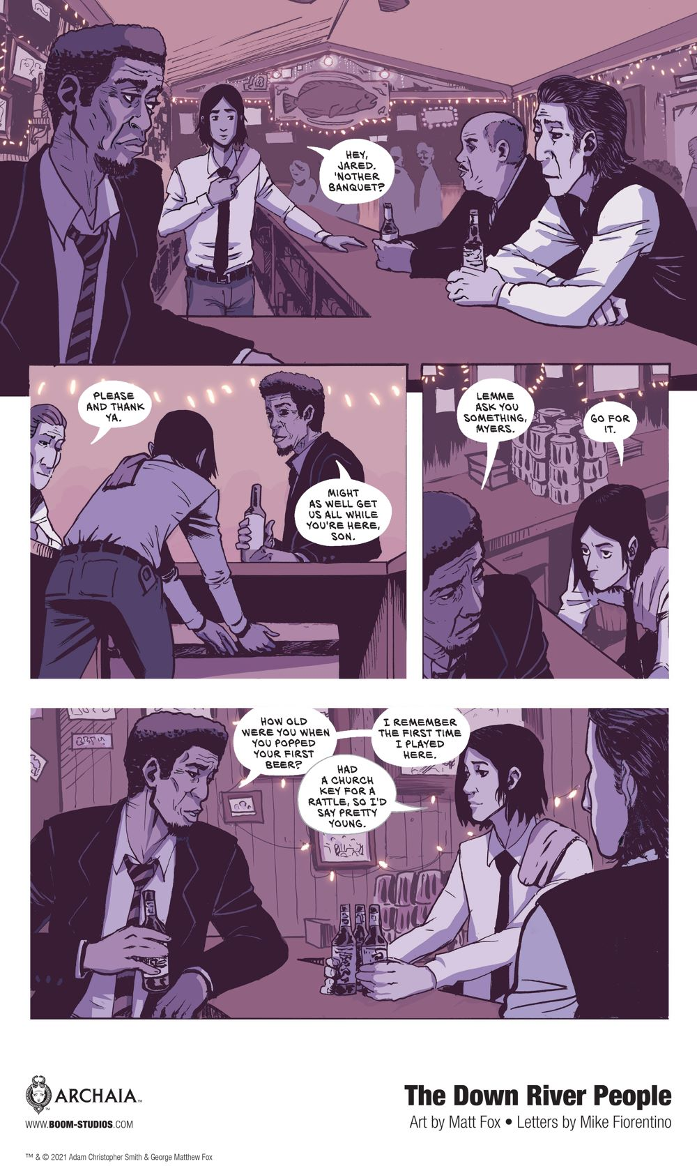 DownRiverPeople_HC_InteriorArt_007_PROMO First Look at BOOM! Studios' THE DOWN RIVER PEOPLE GN
