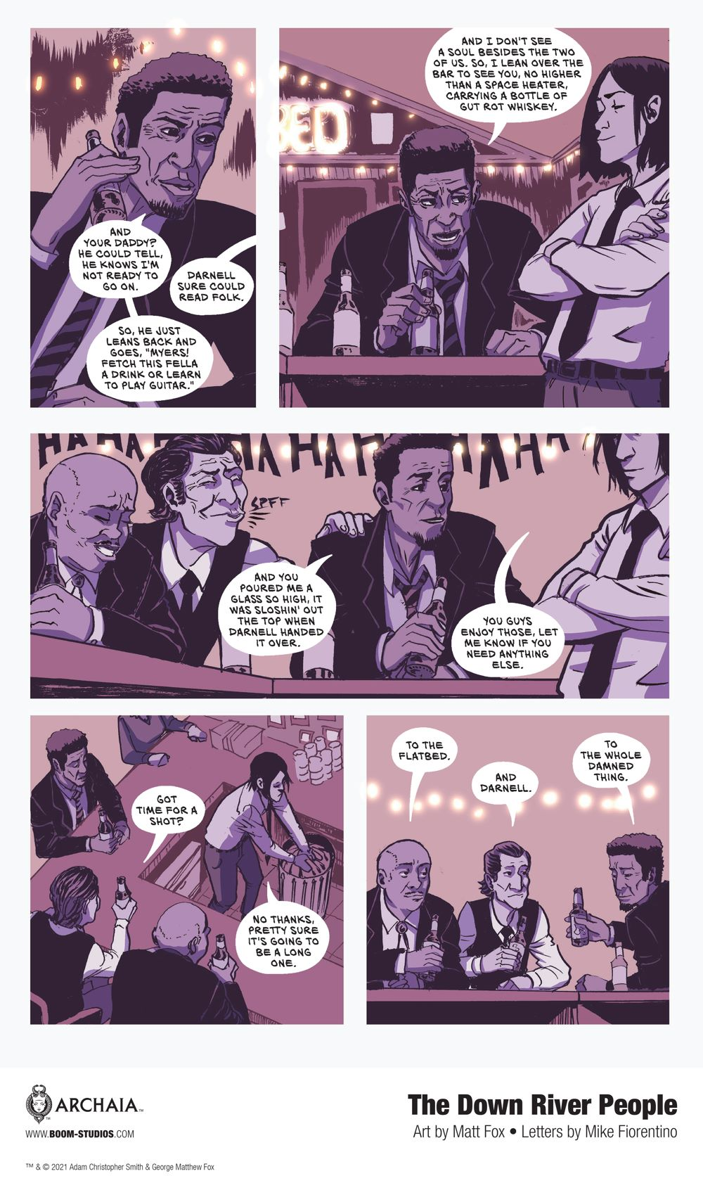 DownRiverPeople_HC_InteriorArt_009_PROMO First Look at BOOM! Studios' THE DOWN RIVER PEOPLE GN
