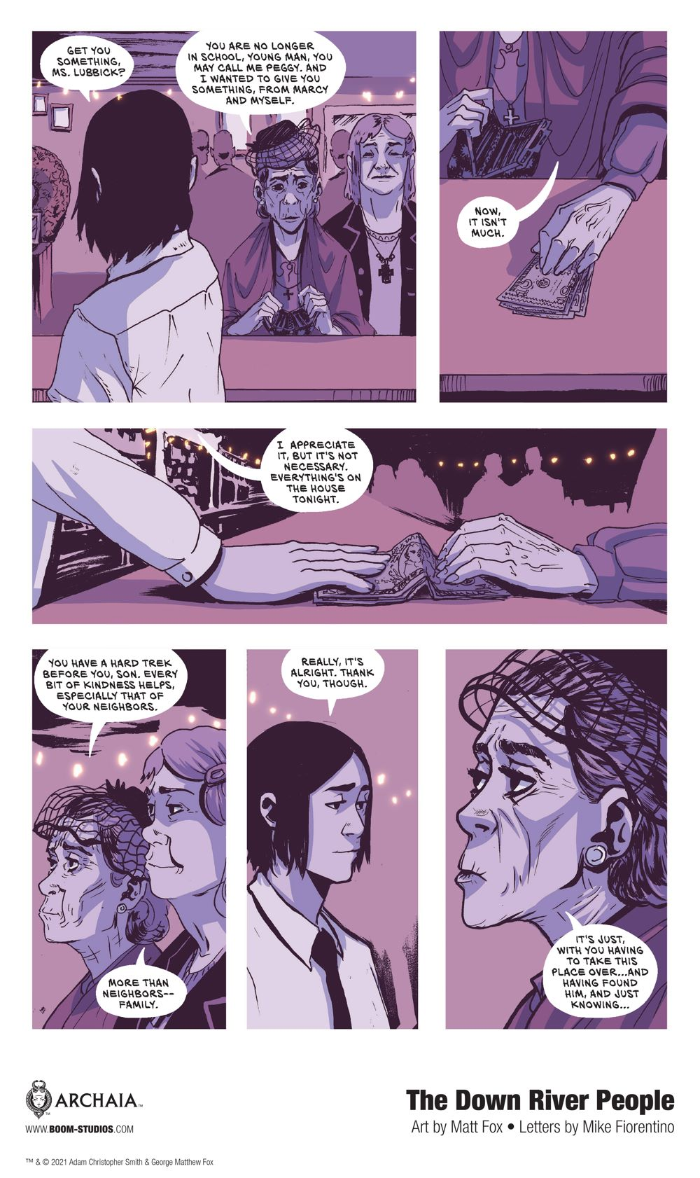 DownRiverPeople_HC_InteriorArt_010_PROMO First Look at BOOM! Studios' THE DOWN RIVER PEOPLE GN