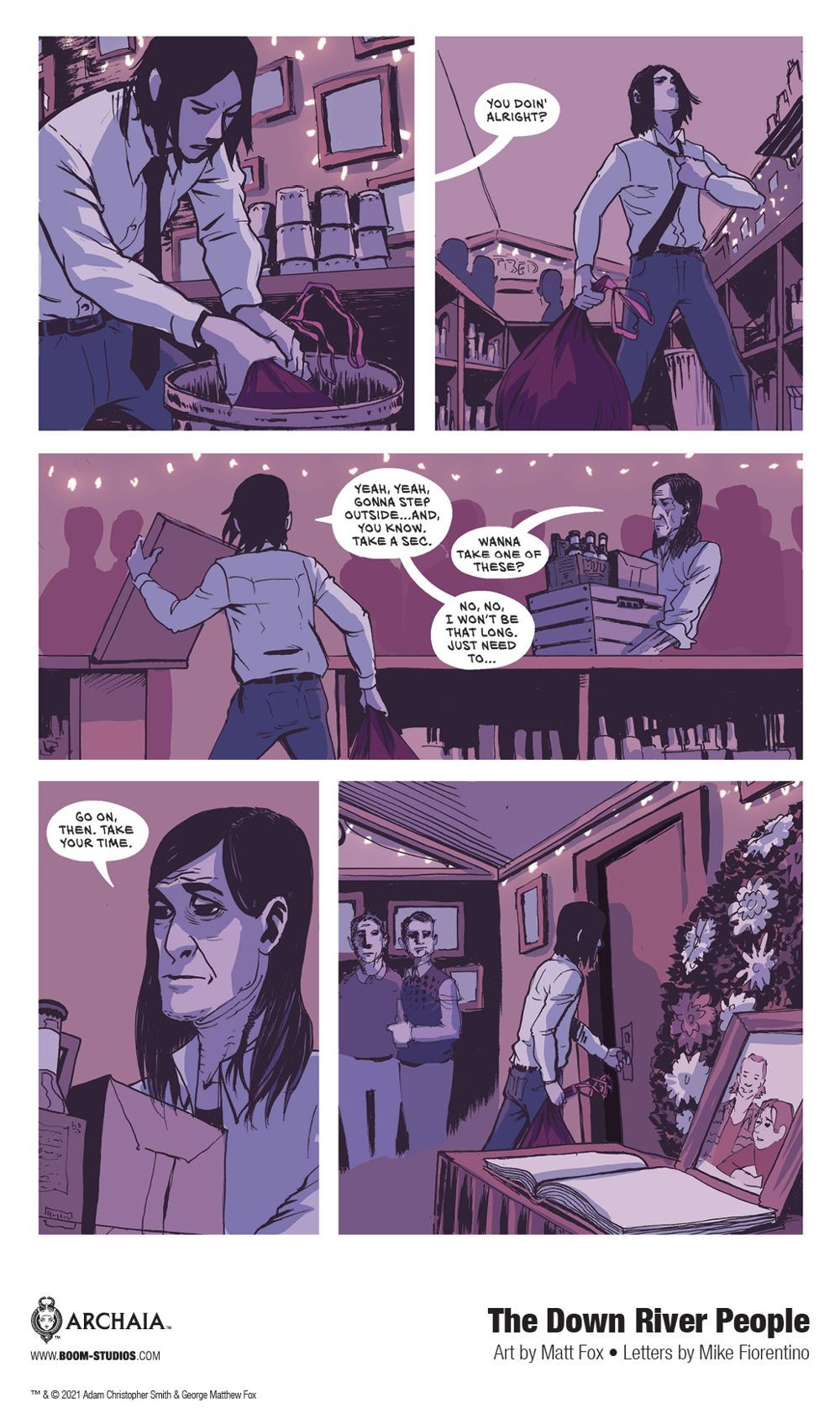 DownRiverPeople_SC_InteriorArt_013_PROMO Second Look at BOOM! Studios' THE DOWN RIVER PEOPLE GN