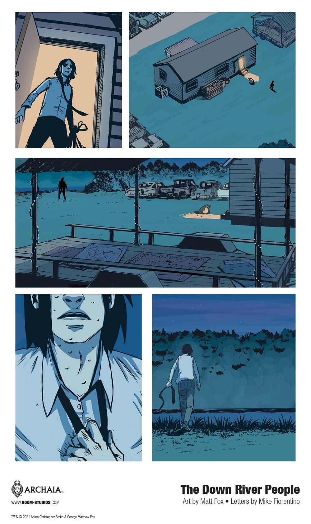 DownRiverPeople_SC_InteriorArt_014_PROMO Second Look at BOOM! Studios' THE DOWN RIVER PEOPLE GN
