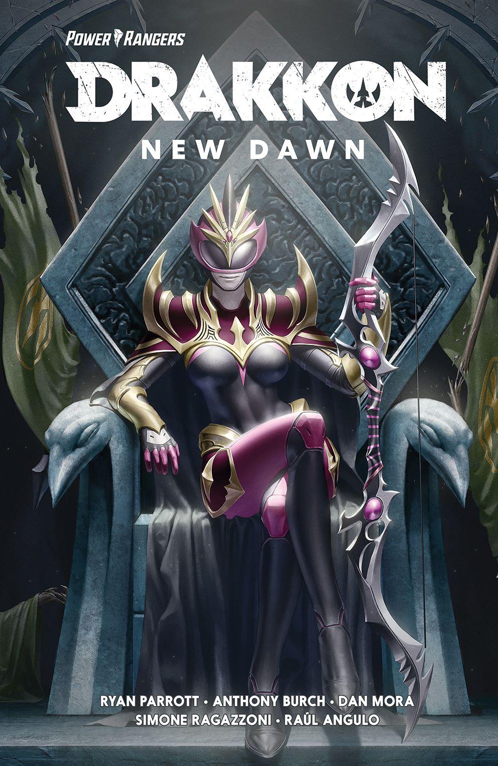 DrakkonNewDawn_SC_Cover ComicList Previews: POWER RANGERS DRAKKON NEW DAWN TP