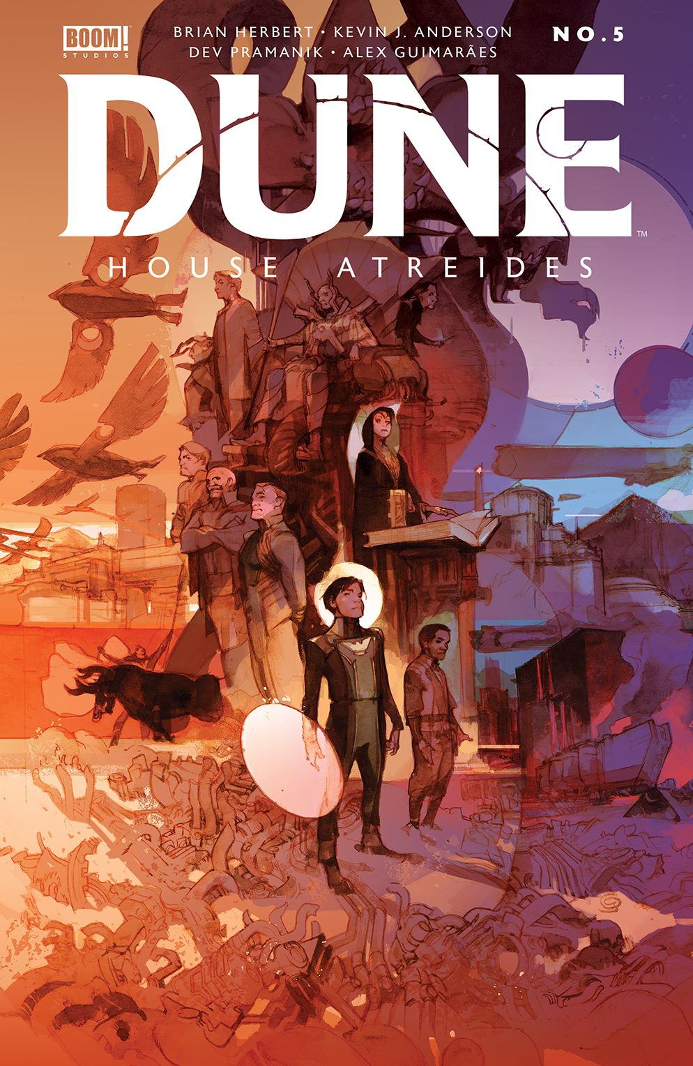 Dune_HouseAtreides_005_Cover_B_Variant ComicList: BOOM! Studios New Releases for 03/24/2021