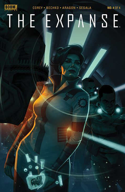 Expanse_004_Cover_B_Variant ComicList Previews: THE EXPANSE #4 (OF 4)
