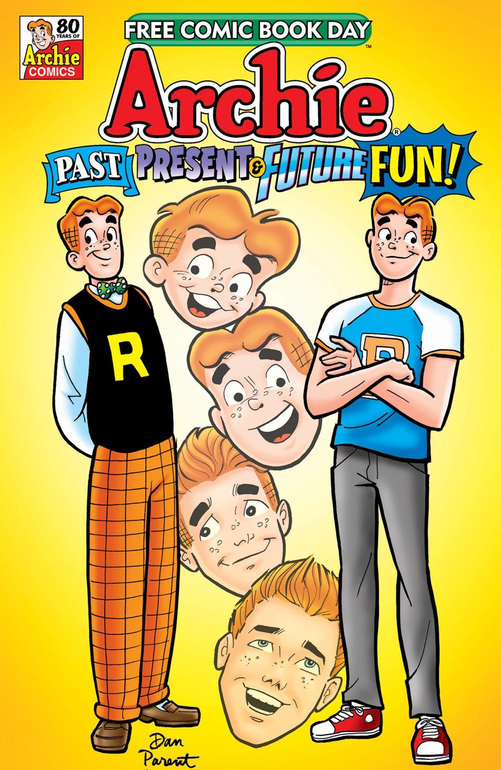 FCBD21_GOLD_Archie_Past-Present-Future-Fun Free Comic Book Day 2021 Gold Sponsor Comic Books announced