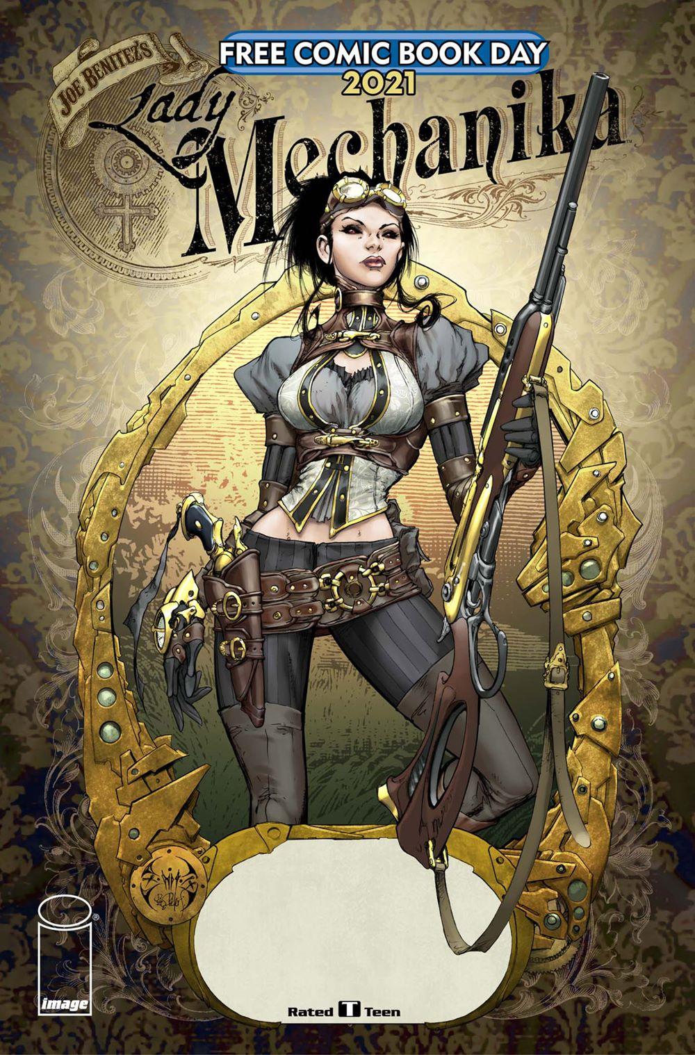 FCBD21_GOLD_Image_Lady-Mechanika-FCBD-2021 Free Comic Book Day 2021 Gold Sponsor Comic Books announced