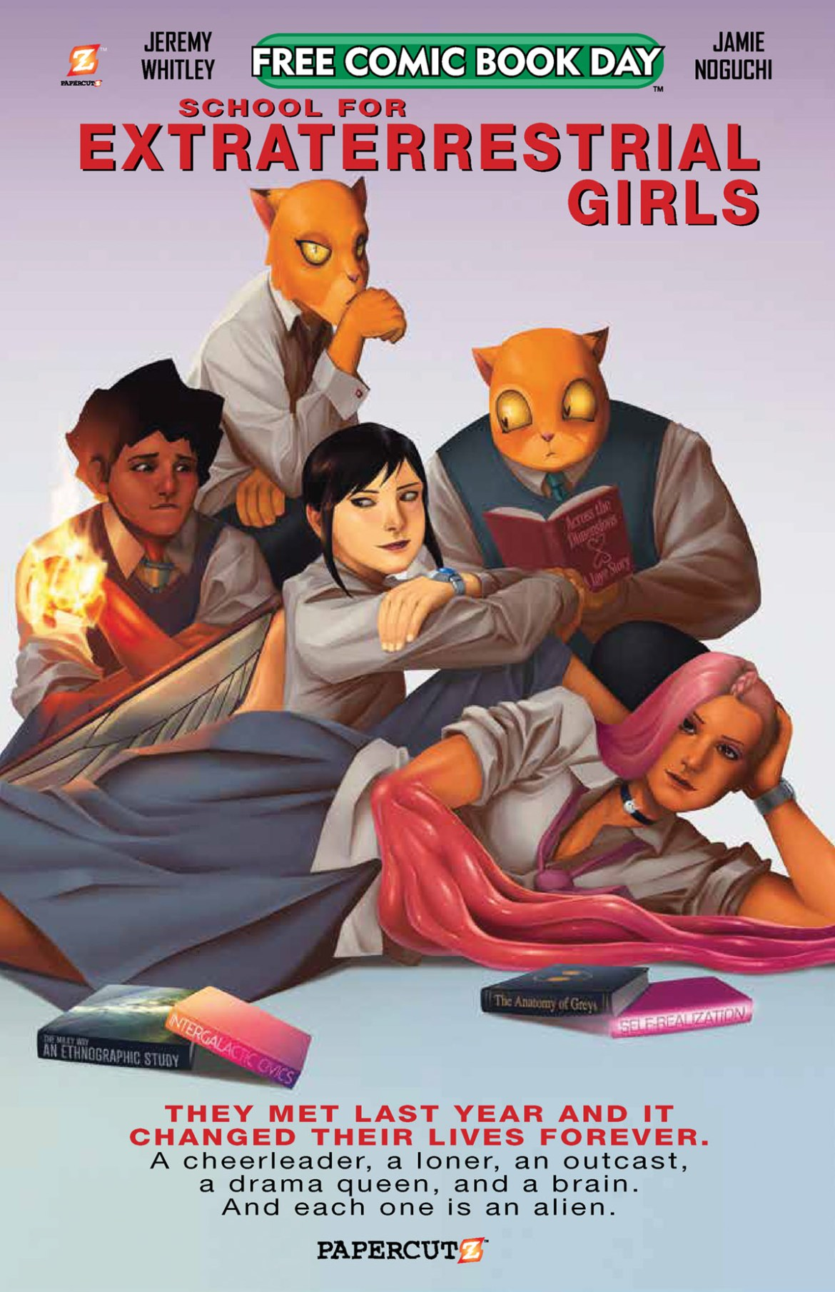 FCBD21_SILVER_Papercutz_School-for-E-T-Girls Complete Free Comic Book Day 2021 comic book line-up announced