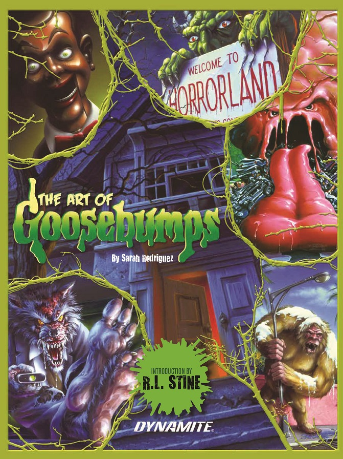 FINAL_COVER THE ART OF GOOSEBUMPS officially features Tim Jacobus artwork
