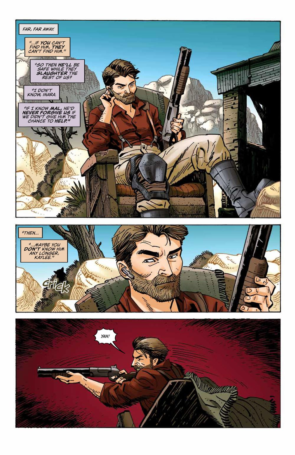 Firefly_027_PRESS_4 ComicList Previews: FIREFLY #27