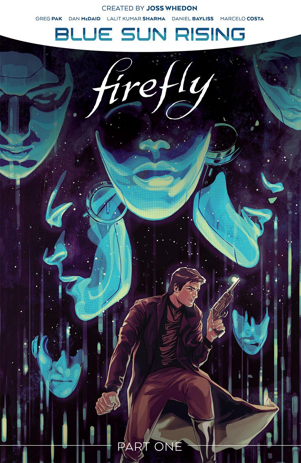 Firefly_BlueSunRising_v1_HC_Cover ComicList Previews: FIREFLY BLUE SUN RISING VOLUME 1 HC