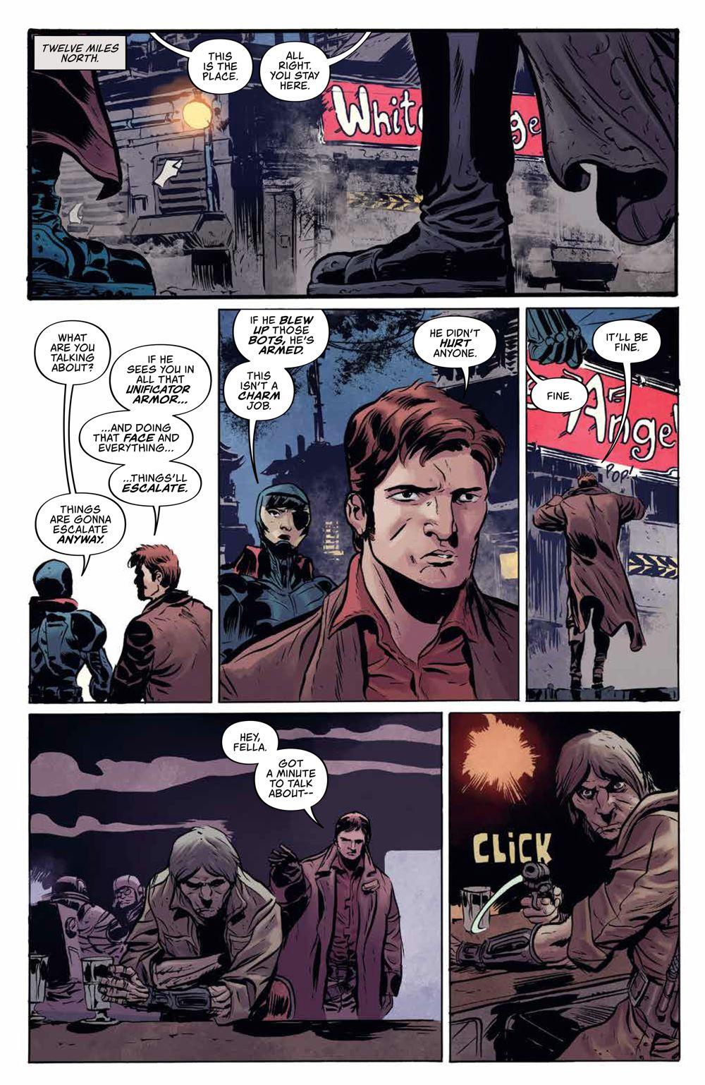 Firefly_BlueSunRising_v1_HC_PRESS_18 ComicList Previews: FIREFLY BLUE SUN RISING VOLUME 1 HC