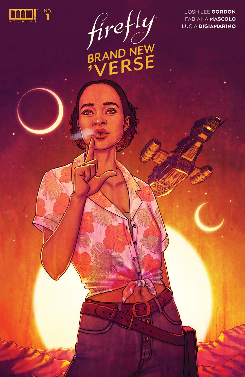 Firefly_BrandNewVerse_001_Cover_D_Variant ComicList Previews: FIREFLY BRAND NEW 'VERSE #1