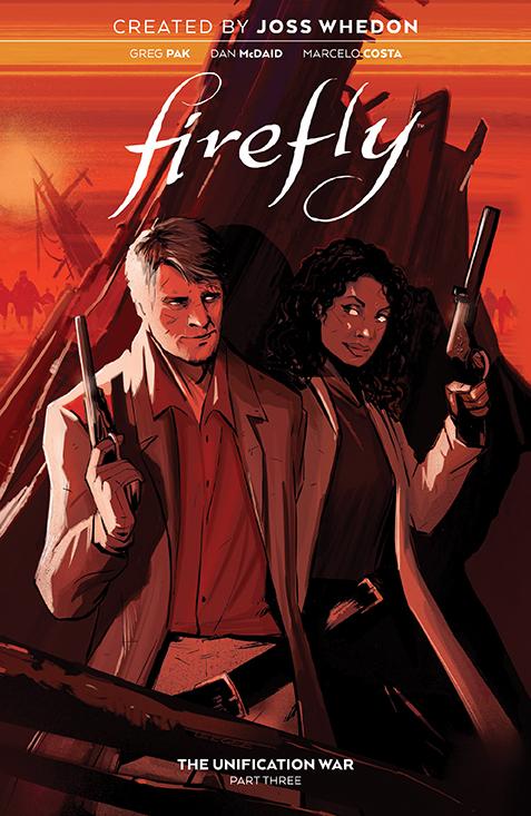 Firefly_UnificationWar_v3_SC_Cover BOOM! Studios June 2021 Solicitations