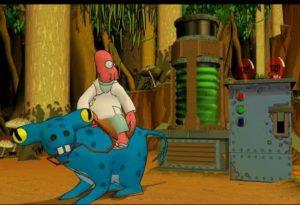 Futurama_Game_Zoidberg_Horse-e1616782825964-300x205 Futurama: The Video Game