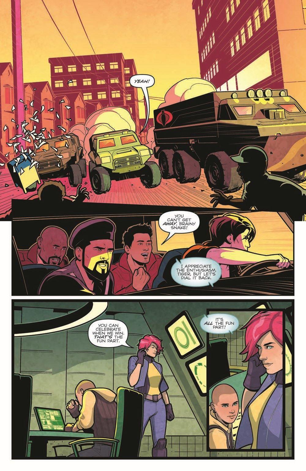 GIJoe_CastleFall-pr-4 ComicList Previews: G.I. JOE CASTLE FALL #1