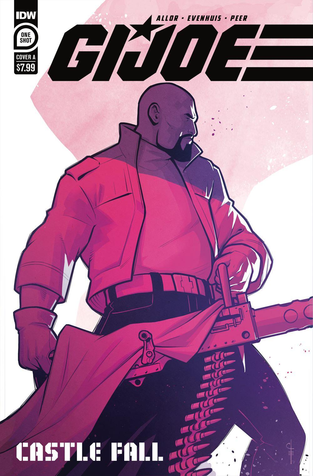 GIJoe_CastleFall01-coverA ComicList Previews: G.I. JOE CASTLE FALL #1