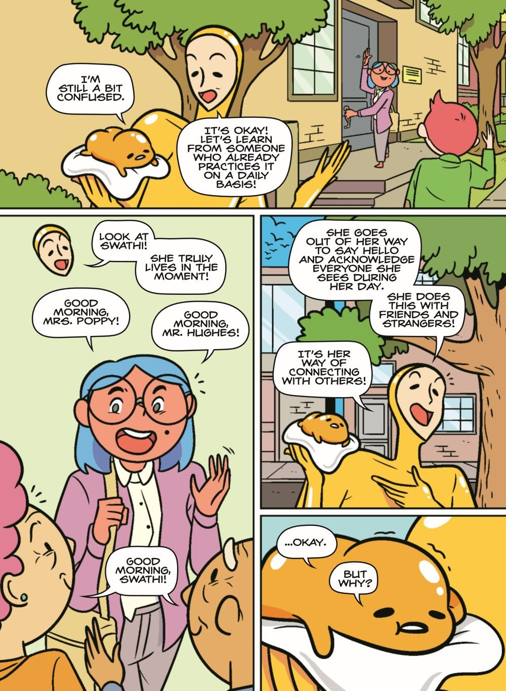 GUDETAMA-V4-MARKETING-07 ComicList Previews: GUDETAMA MINDFULNESS FOR THE LAZY HC