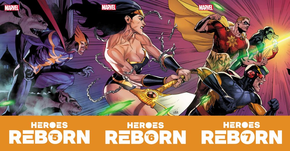 HEROESREBORN2021005-7_Covs Even more HEROES REBORN covers are revealed