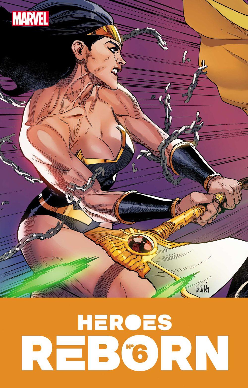 HEROESREBORN2021006_COV Marvel Comics June 2021 Solicitations