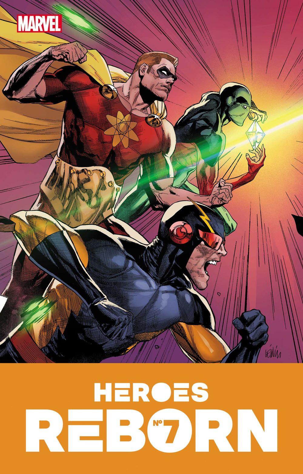 HEROESREBORN2021007_COV Marvel Comics June 2021 Solicitations
