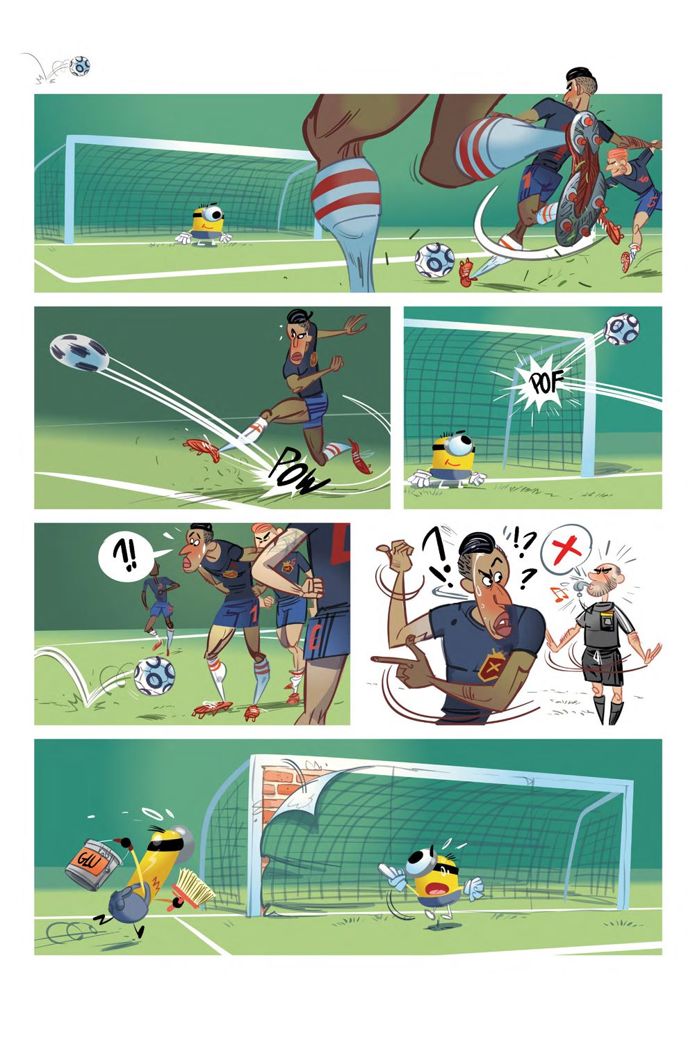 Interiors-Minions-Sports-1-Full-PDF-2_Page_1 ComicList Previews: MINIONS VOLUME 5 SPORTS #1