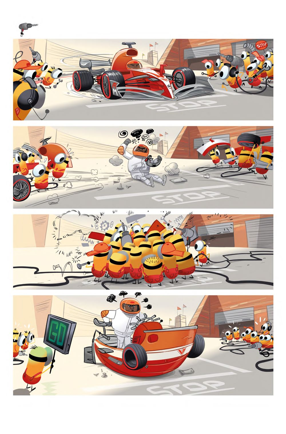 Interiors-Minions-Sports-1-Full-PDF-2_Page_3 ComicList Previews: MINIONS VOLUME 5 SPORTS #1