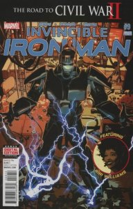 Invincible-Iron-Man-9-second-print-192x300 Coldest Comics for the Week of 3/5: Falling Stars