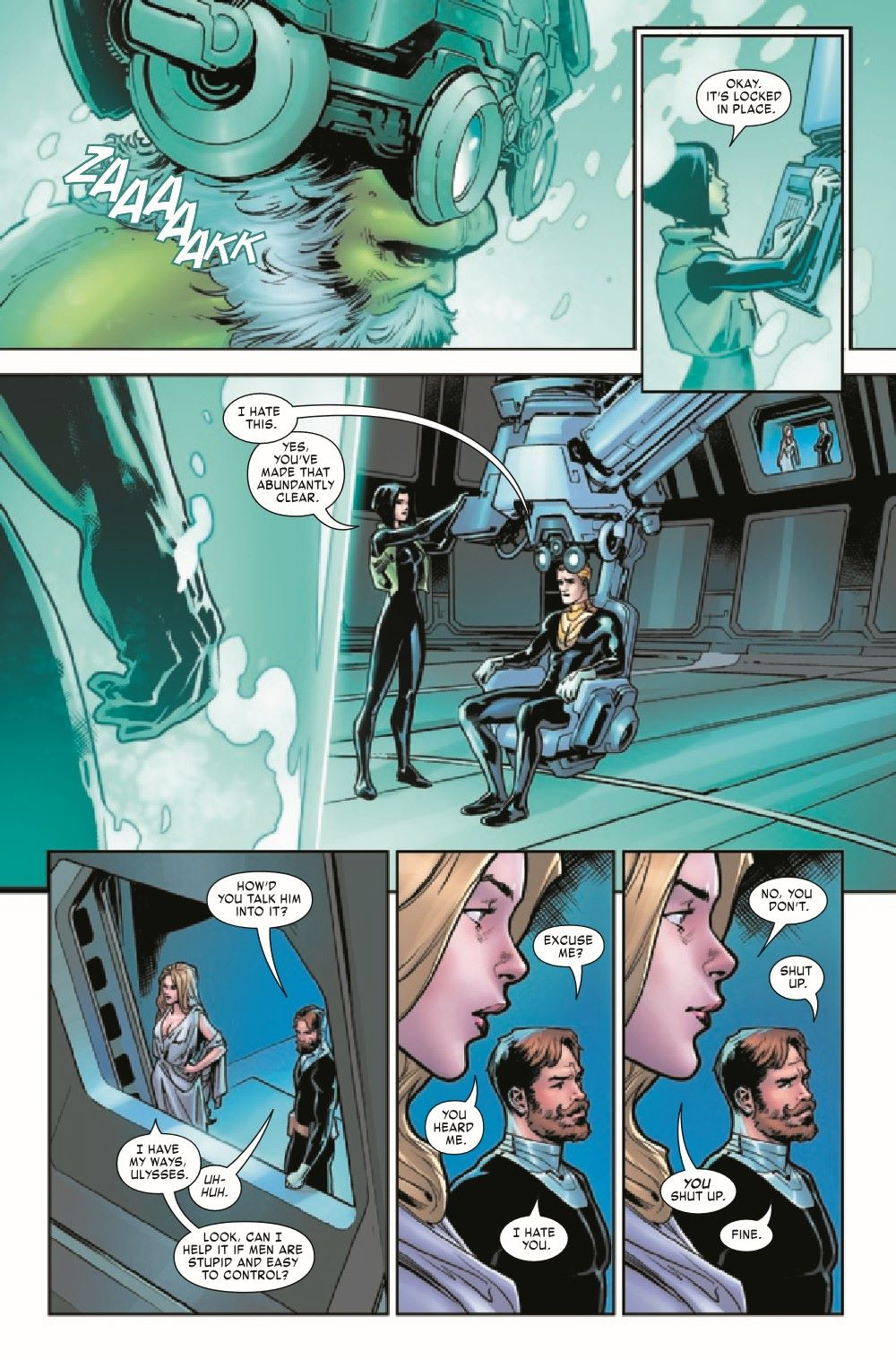 MAESTROWAP2021003_Preview-3 ComicList Previews: MAESTRO WAR AND PAX #3 (OF 5)