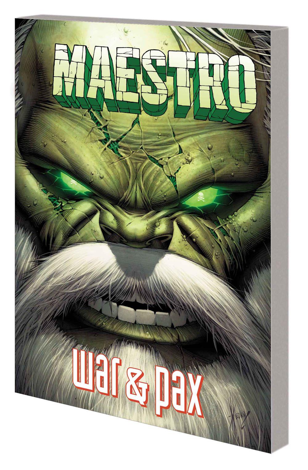 MAESTROWAP_TPB Marvel Comics June 2021 Solicitations
