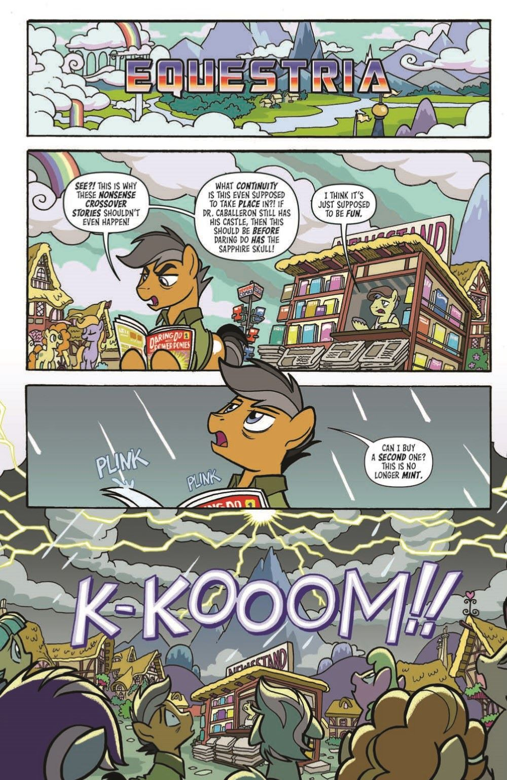 MLP-TF_XOVER_TPB_pr-3 ComicList Previews: MY LITTLE PONY TRANSFORMERS FRIENDSHIP IN DISGUISE TP