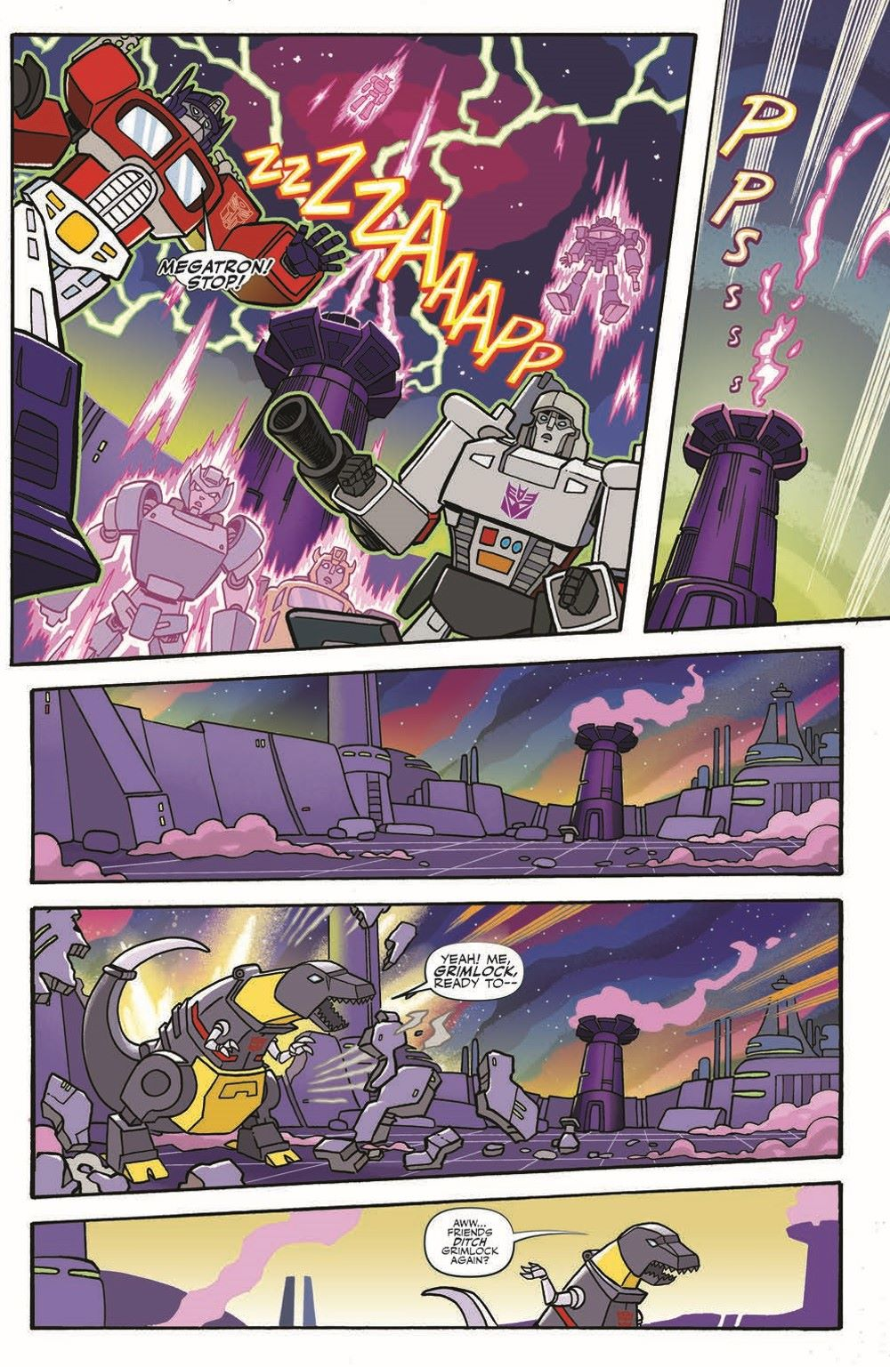 MLP-TF_XOVER_TPB_pr-6 ComicList Previews: MY LITTLE PONY TRANSFORMERS FRIENDSHIP IN DISGUISE TP