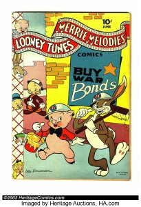 Merry-Melodies-205x300 Sneaky Moves: Are Golden Age Funny Animal Comics Laughing Their Way Up?