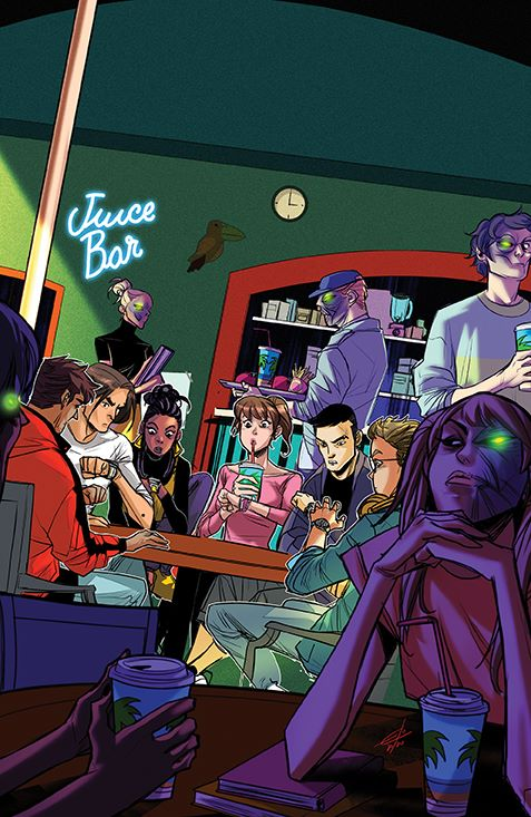 MightyMorphin_005_Cover_E_Variant ComicList Previews: MIGHTY MORPHIN #5