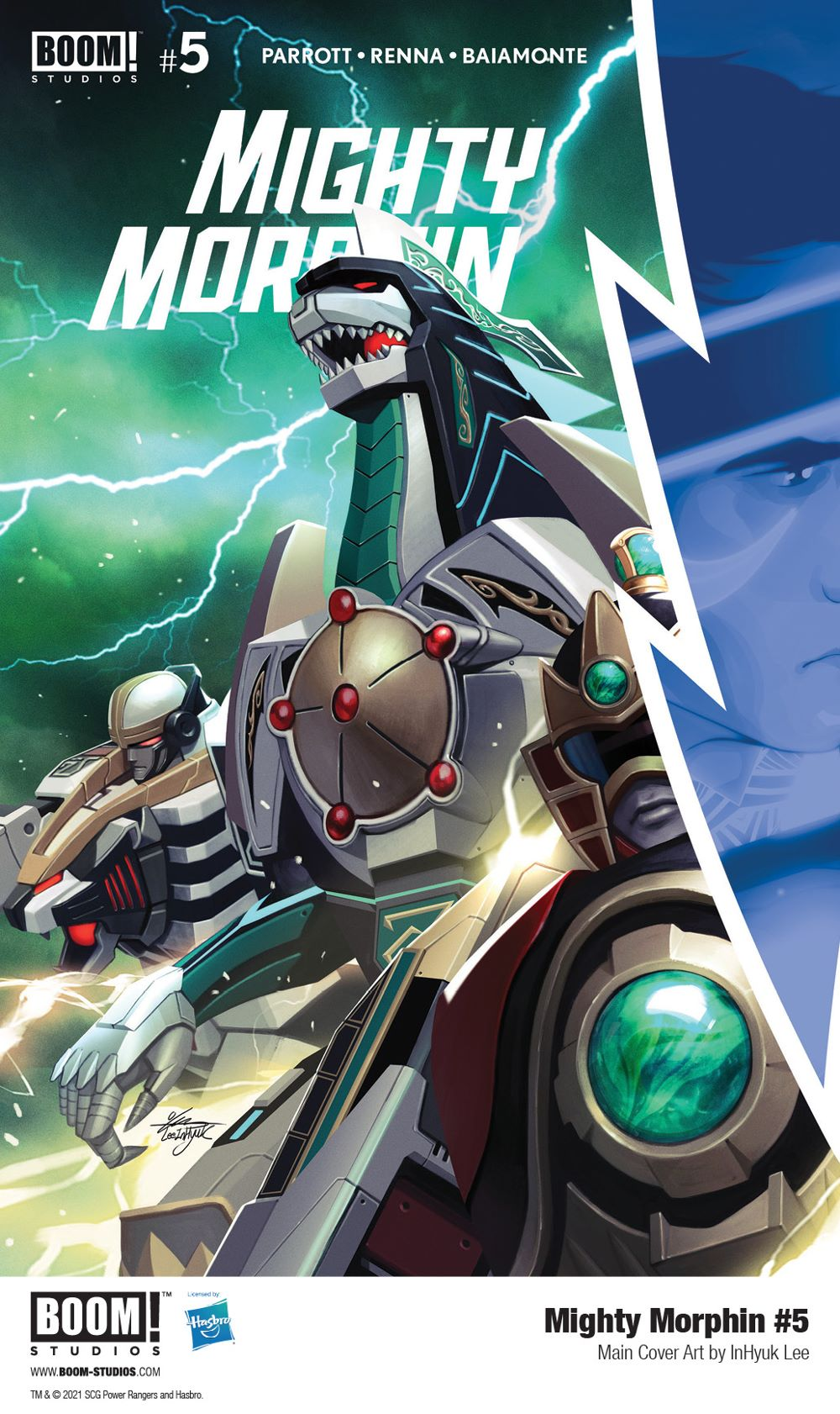 MightyMorphin_005_Cover_Main_PROMO First Look at BOOM! Studios' MIGHTY MORPHIN #5