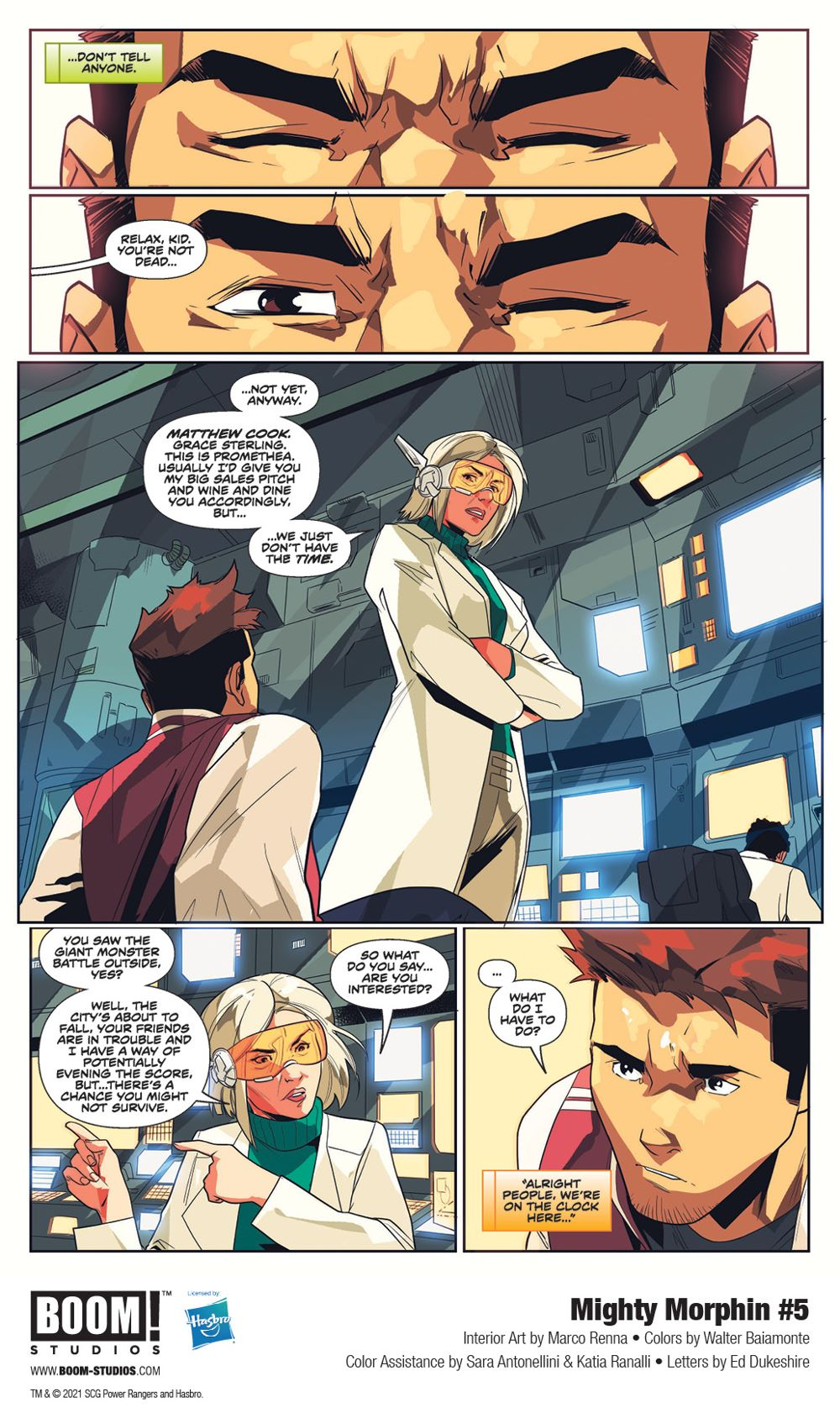 MightyMorphin_005_InteriorArt_002_PROMO First Look at BOOM! Studios' MIGHTY MORPHIN #5